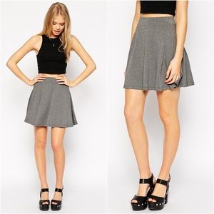 ASOS High Waist Skater Skirt
